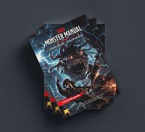 D&D Monster Manual - Livro dos Monstros - 5ª Ed.  em Português.