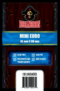 Sleeves - Mini EURO (45mm X 68mm)