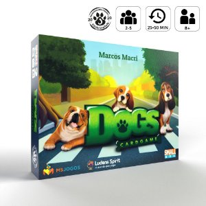 Dogs: Card Game - Versão do Financiamento Coletivo