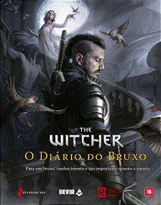 The Witcher RPG - O Diário do Bruxo 1ª Ed. 2021