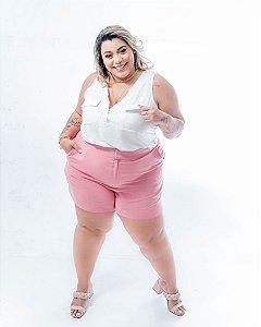 Short Plus Size Fashion Rose