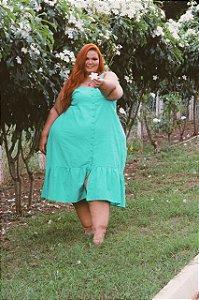 Vestido Rafaela Verde Menta