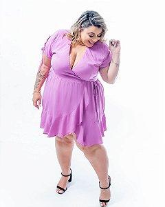 Vestido Romance Violeta