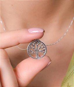 Pingente árvore da vida pequeno. Prata 925