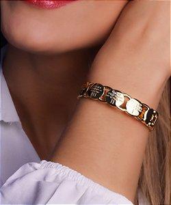 Bracelete Com Dez Mandamentos