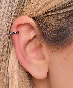 Micro piercing fake de zirconia