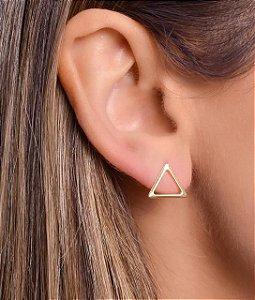 Brinco de triangulo vazado Tam G