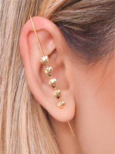 Ear Pin 5 Corações