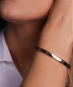 Bracelete Estilo Réplica De Ouro - Cartier