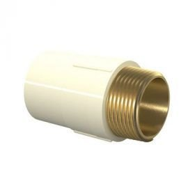 CONECTOR AQUATHERM MACHO 114 MM X 4'' TIGRE