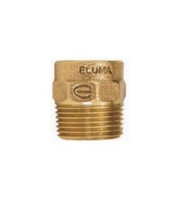 CONECTOR ROSCA MACHO S/ ANEL 15 MM X 1/2'' - ELUMA