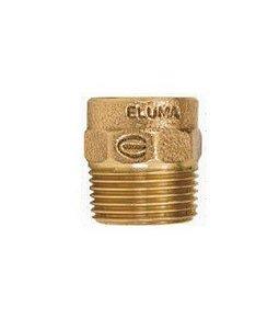 CONECTOR ROSCA MACHO S/ ANEL 66 MM X 21/2'' - ELUMA