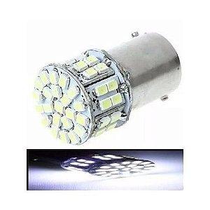 Lampada 50 Led Ba15s 1 Polo P21w 1156 1141 Branco 12v