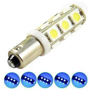 Lampada Ba9s 13 Led T4w 69 Azul 12v