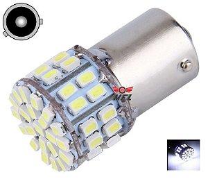 LAMPADA 50 LED BAU15S 1 POLO PY21W 1056 BRANCO 12V