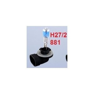 Lampada H27 881 SuperBranca 5000k 27w 12v