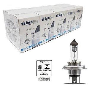 Lampada Halogena H4 4300k 12v 55/60w Techone (unidade) 12v