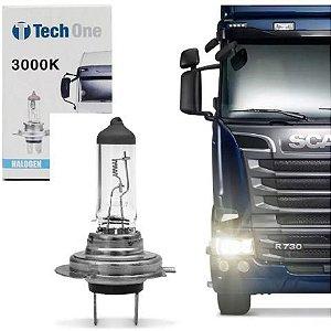 Lampada Halogena H7 4300k 24v 70w Techone (unidade)