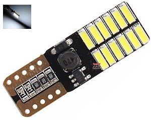LAMPADA T10 CAMBUS 24 LED CANCELLER 470 W5W BRANCO 12V