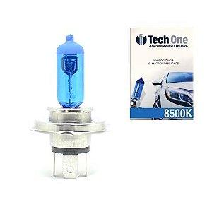 Lampada Super Branca H4 8500k Xenon 12v 55w Techone (unidade)