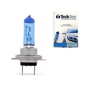 Lampada Super Branca H7 8500k Xenon 12v 55w Techone (unidade)