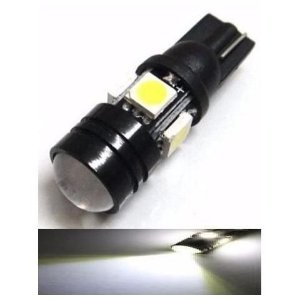Lampada T10 Cree 5 Led W5w Branco 5050 12v