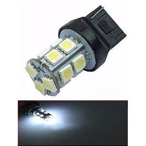 Lampada T20 13 Led 1 Polo 7440 5050 W21w Branco 12v