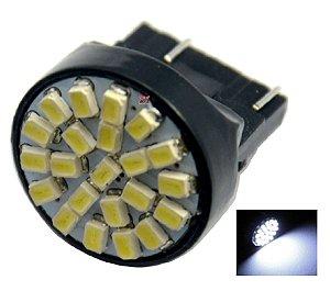 LAMPADA T20 22 LED 1 2 POLO 7440 7443 W21W BRANCO 12V