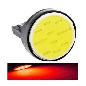 Lampada T20 Cob Led 1 Polo 7440 W21w Vermelho 12v