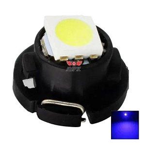 LAMPADA T4.7 12MM LED AZUL 12V
