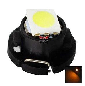 LAMPADA T4.7 12MM LED LARANJA 12V