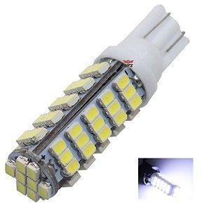 LAMPADA T10 68 LED W5W BRANCO 12V