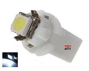 LAMPADA T5 B8.3 D 1 LED BRANCO 12V