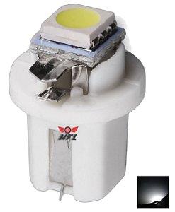 LAMPADA T5 B8.5 D 1 LED BRANCO 12V
