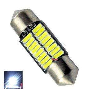LAMPADA TORPEDO CAMBUS 16 LED C5W 31 MM BRANCO 12V