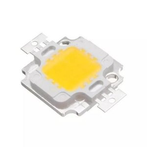 Chip Super Power Led 10w 9v-12v Branco Frio