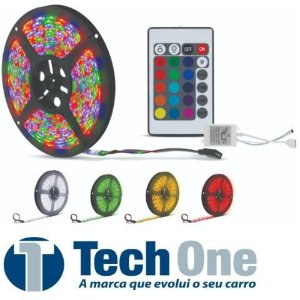 Fita Led Strip 5m 12v RGB TechOne