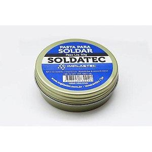 Pasta De Solda Fluxo Pasta Soldatec 50g Implastec