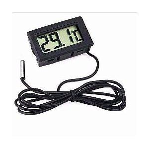 Termômetro Digital Freezer Aquário Estuf Sonda Chocadeira