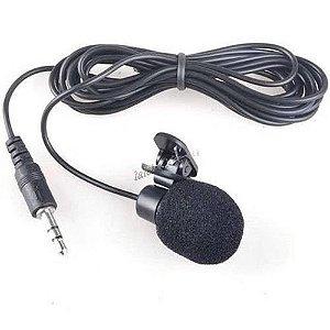 Mini Microfone De Lapela 1,5m