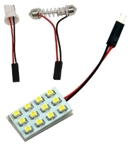 Placa Super Led 12 Chips Leds 3528 T10 Torpedo