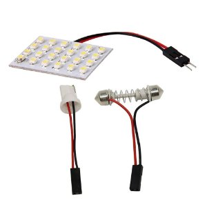 Placa Super Led 24 Chips Leds 3528 T10 Torpedo
