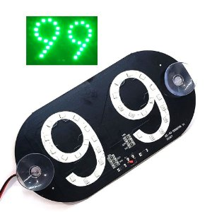 Placa Luminosa 30 Led 99 Verde