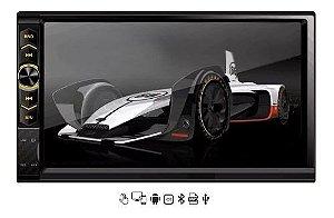 Central Mp5 Multimidia Cinoy Tela 7.0 Bluetooth Espelhamento