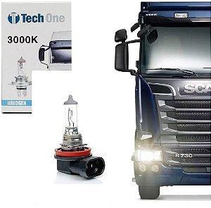 Lampada Halogena H11 4300k 24v 70w Techone (unidade)