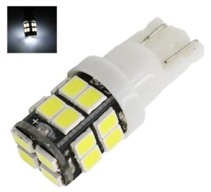 LAMPADA T10 20 LED W5W BRANCO 12V