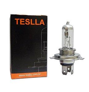Lampada Teslla H4 Inmetro 3000k 70w 24v Caminhao