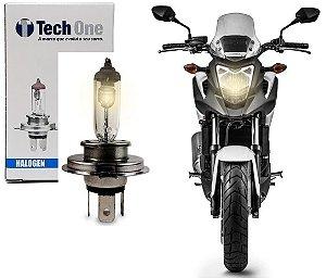 Lampada Halogena H4 4300k 12v 35w Moto Techone 12v