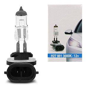 Lampada Halogena H27 881 4300k 12v 27w Techone (unidade)
