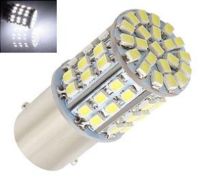 Lampada 64 Led Ba15s 1 Polo P21w 1156 1141 Branco 12v